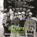 Puppet Workshop Flyer 2013_bw_green type_sm