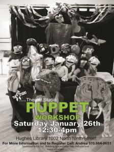 Muppet Puppet Workshop