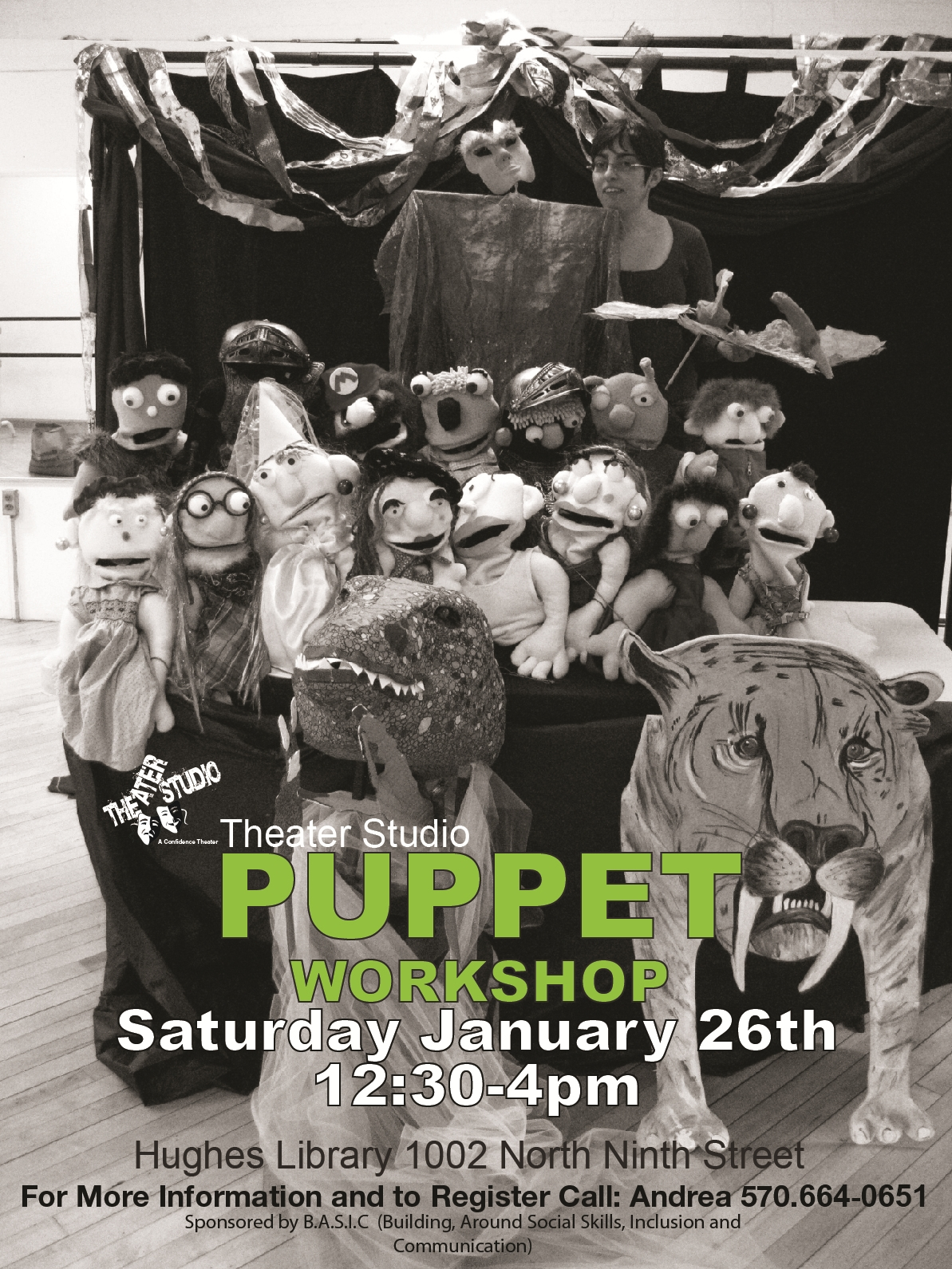 Muppet Puppet Workshop
