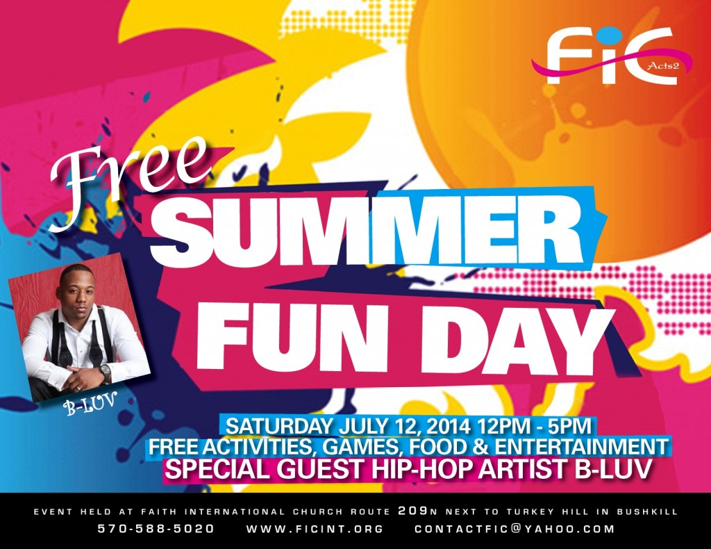 FIC SUMMER FUN DAY